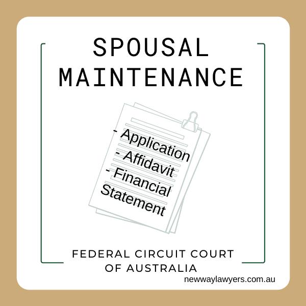 spousal maintenance guide quiz family law australia